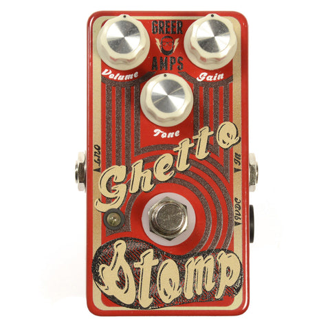 Greer Amps Ghetto Stomp Overdrive