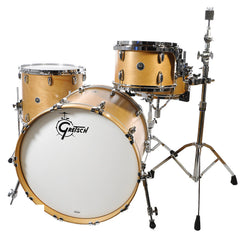 Gretsch Brooklyn 4pc Drum Kit 12/16/22/5.5x14 Satin Natural