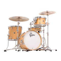 Gretsch Brooklyn 4pc Bop Shell Pack 12/14/18/5x14 Satin Natural