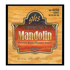 GHS Electric Mandolin Stainless Steel Strings 10-36