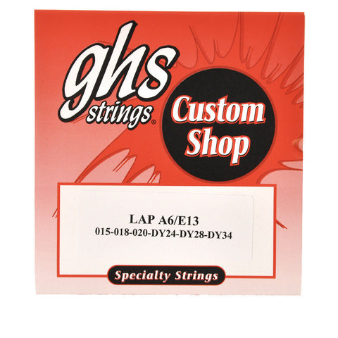 GHS Electric Lap Steel Strings A6/E13 Tuning 14-36