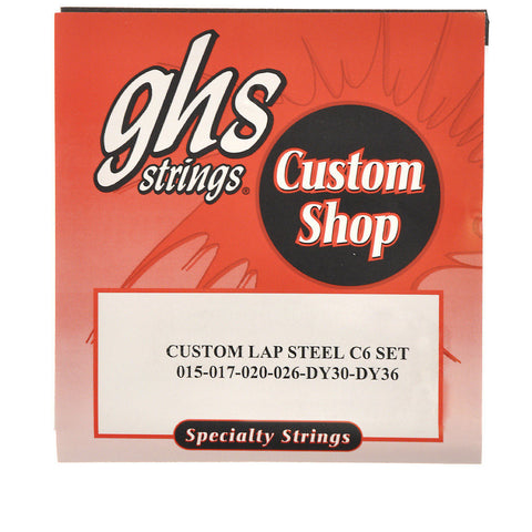 GHS Electric Lap Steel Strings C6 Tuning 15-36