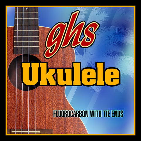 GHS Ukulele Strings Hawaiian D Tuning 21-24