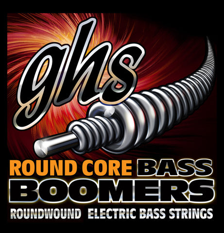 GHS Round Core Bass Boomers 5 String Medium Light 45-126