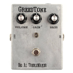 Greedtone Big Al Treblemaker Treble Booster CME Exclusive