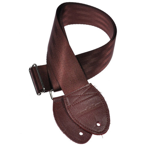 Souldier Guitar Strap - Plain Burgundy