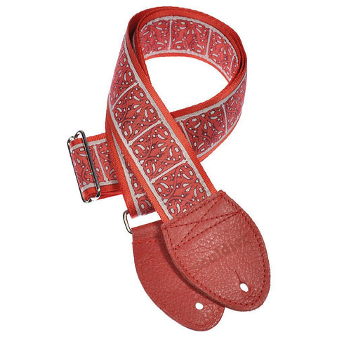 Souldier Guitar Strap - Red Galway