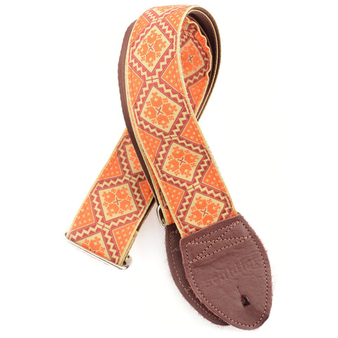Souldier Rustic Orange Burgundy Tan (Burgundy Belt & Ends)