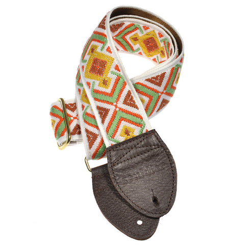 Souldier Guitar Strap - Nutmeg Diamante Multi