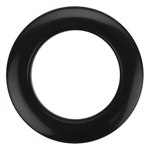 Bass Drum O's 2 Inch Bass Drum Head Reinforcement Rings Black (2pk)