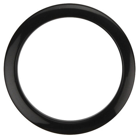 Bass Drum O's 4 Inch Bass Drum Head Reinforcement Ring Black