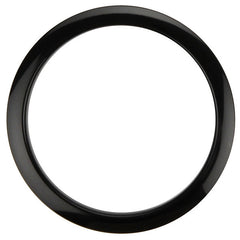 Bass Drum O's 5 Inch Bass Drum Head Reinforcement Ring Black