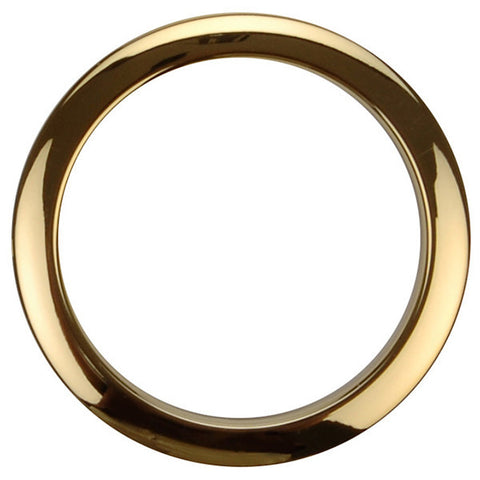 Bass Drum O's 4 Inch Bass Drum Head Reinforcement Ring Brass
