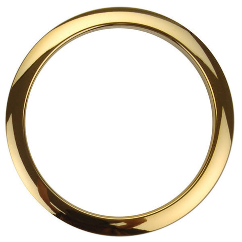 Bass Drum O's 5 Inch Bass Drum Head Reinforcement Ring Brass
