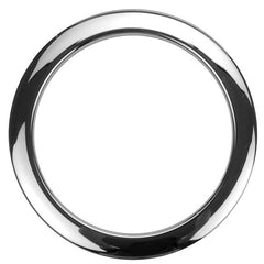 Bass Drum O's 4 Inch Bass Drum Head Reinforcement Ring Chrome
