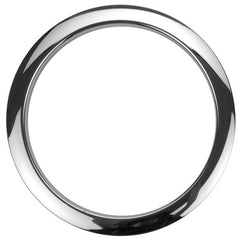 Bass Drum O's 5 Inch Bass Drum Head Reinforcement Ring Chrome
