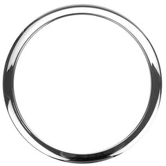 Bass Drum O's 6 Inch Bass Drum Head Reinforcement Ring Chrome
