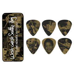Dunlop Jimi Hendrix West Coast Seattle Boy Guitar Pick Tin - Heavy