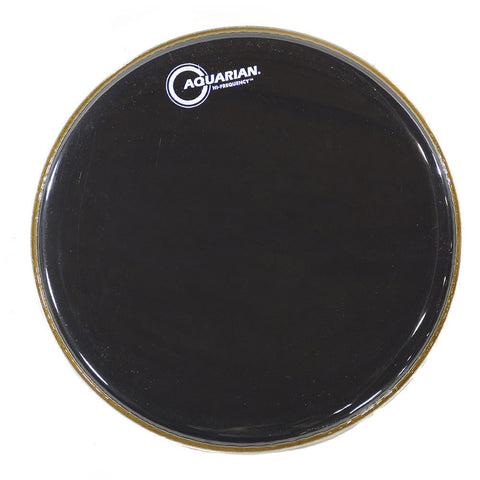 Aquarian 13 Inch HI-Frequency Drum Head Gloss Black