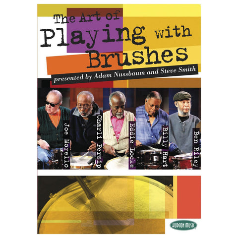 The Art of Playing Brushes DVD 2 DVD Set