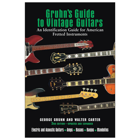 Gruhn's Guide to Vintage Guitars 3rd Edition Pocket Guide