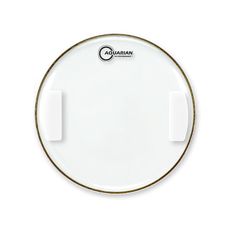 Aquarian 14 Inch Classic Clear Hi-Performance Snare Side  Drum Head