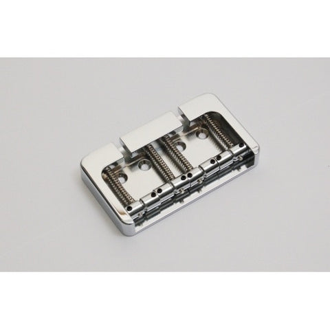 Hipshot B Style 4-String Bridge Chromed Aluminum