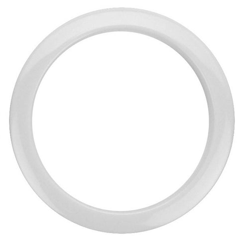 Bass Drum O's 4 Inch Bass Drum Head Reinforcement Ring White