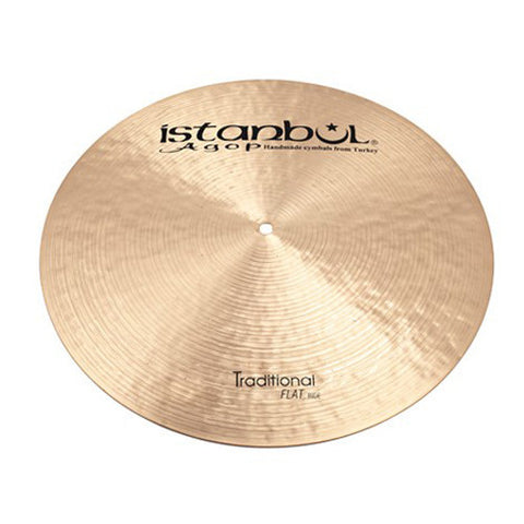 Istanbul Agop 20 Inch Traditional Flat Ride Cymbal