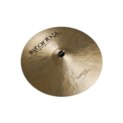 Istanbul Agop 24 Inch Traditional Medium Ride Cymbal