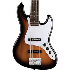 Squier Affinity 5-String Jazz Bass Brown Sunburst