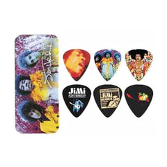 Dunlop Jimi Hendrix Experienced Guitar Pick Tin - Medium