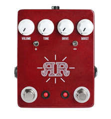 JHS Ruby Red Butch Walker Signature 2-in-1 Overdrive and Boost
