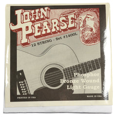 John Pearse Acoustic Strings 12-String Phosphor Bronze Light 10-47