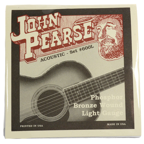 John Pearse Acoustic Strings Phosphor Bronze Extra Light 10-47