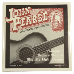 John Pearse Acoustic Strings Phosphor Bronze Slightly Light 11-50