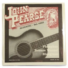 John Pearse Acoustic Strings Phosphor Bronze Bluegrass 12-56