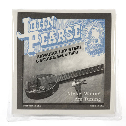 John Pearse Hawaiian Lap Steel Strings Pure Nickel Am Tuning 16-54
