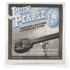 John Pearse Hawaiian Lap Steel Strings Pure Nickel B11 Tuning 15-34