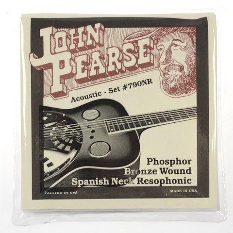 John Pearse Acoustic Strings Phosphor Bronze Spanish Neck Resophonic 13-56