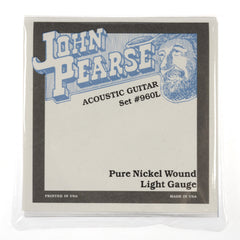 John Pearse Acoustic Strings Pure Nickel Light 12-54