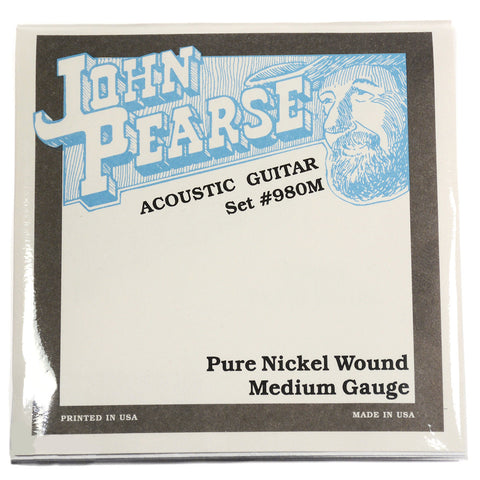 John Pearse Acoustic Strings Pure Nickel Medium 13-57