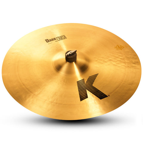 Zildjian 20 Inch K Dark Crash Thin Cymbal