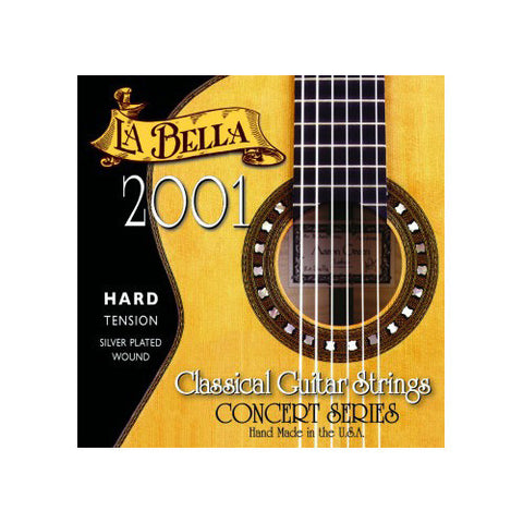 La Bella 2001 Classical Guitar Strings Hard Tension