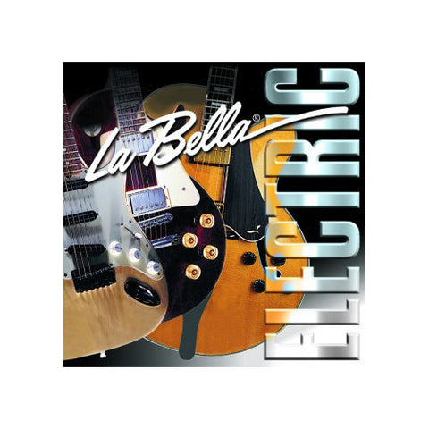 La Bella 20PM Stainless Steel Flat Wound Strings Medium 13-53