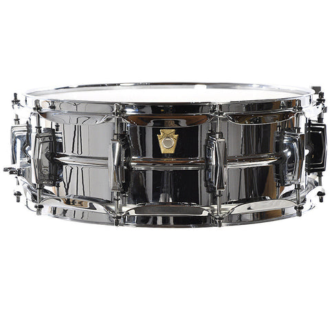 Ludwig 14 x 5 Inch Chrome Over Brass Shell Snare Drum