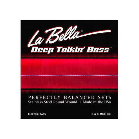 La Bella 767-6S Deep Talkin Bass Round Wound Bass VI Strings 26-95