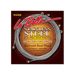 La Bella M45-B Stainless Steel Round Wound Light 5-String 45-128