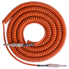 Lava Super Coil Instrument Cable 35' Straight-Straight Orange