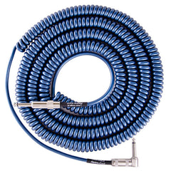 Lava Super Coil Instrument Cable 35' Straight-Right Metallic Blue
